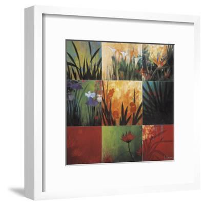 Tropical Nine Patch-Don Li-Leger-Framed Giclee Print