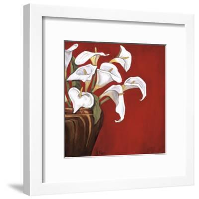 Callas on Red-Ann Parr-Framed Giclee Print