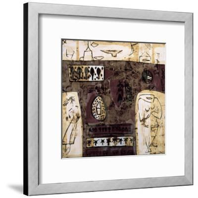 Duality in Red-Carme Bassa-Framed Giclee Print