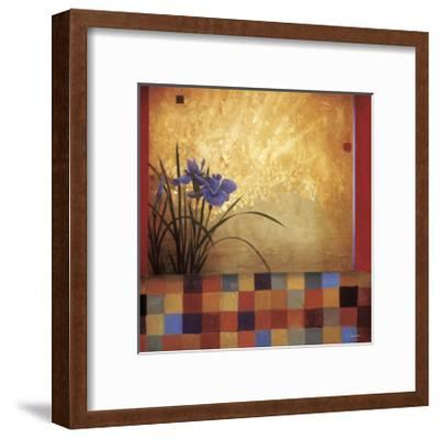 Iris Quilt-Don Li-Leger-Framed Giclee Print
