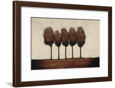 Five Trees-Rita Vindedzis-Framed Giclee Print