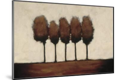 Five Trees-Rita Vindedzis-Mounted Giclee Print