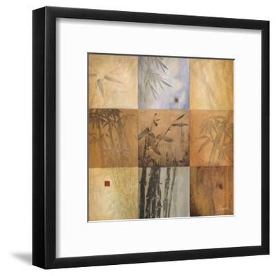 Bamboo Nine Patch-Don Li-Leger-Framed Giclee Print