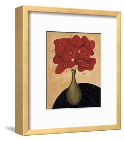 Bouquet Rouge-Jocelyne Anderson-Tapp-Framed Giclee Print