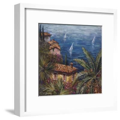 View Through Palms-Malcolm Surridge-Framed Giclee Print