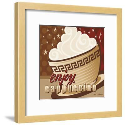 Cappuccino-P.j. Dean-Framed Giclee Print