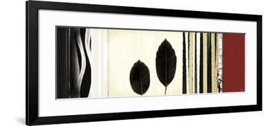 Folium II-Noah Li-Leger-Framed Giclee Print