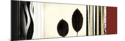Folium II-Noah Li-Leger-Mounted Giclee Print