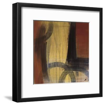 Circles in Time II-Jo Clouden-Framed Giclee Print