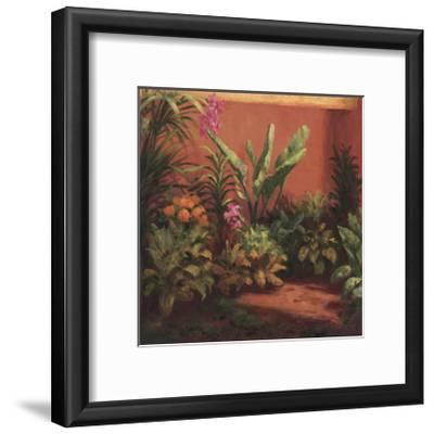 Jardin Tropical- Hali-Framed Giclee Print