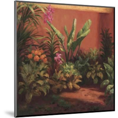 Jardin Tropical- Hali-Mounted Giclee Print