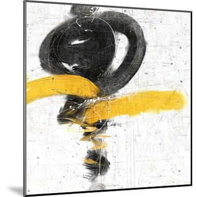Zen in Yellow I--Mounted Art Print