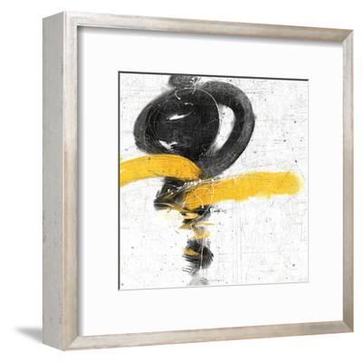 Zen in Yellow I--Framed Art Print