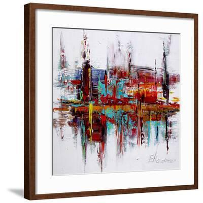Red Autobiography--Framed Art Print