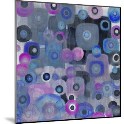 Square Spots--Mounted Art Print