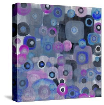 Square Spots--Stretched Canvas Print