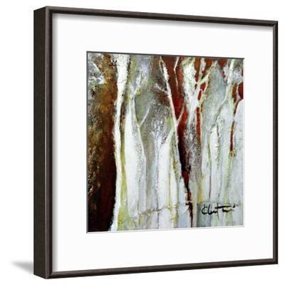 Abstract Forest 1-Kathleen Cloutier-Framed Art Print