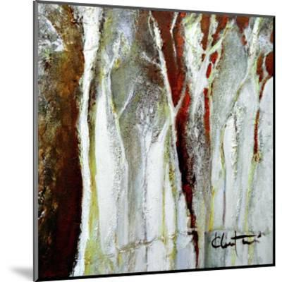 Abstract Forest 1-Kathleen Cloutier-Mounted Art Print