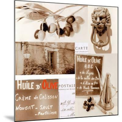 Huile D'Olive-Lizie-Mounted Art Print