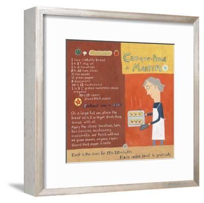 Martin's Special Pizza-Céline Malépart-Framed Art Print