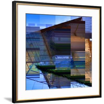Urban Abstract 2-Jean-Fran?ois Dupuis-Framed Art Print