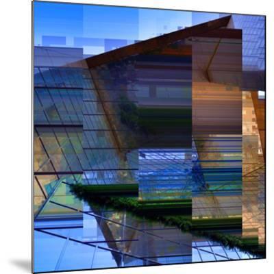 Urban Abstract 2-Jean-Fran?ois Dupuis-Mounted Art Print