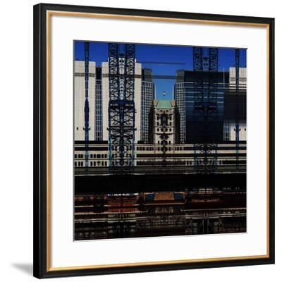 Urban Abstract 14-Jean-Fran?ois Dupuis-Framed Art Print