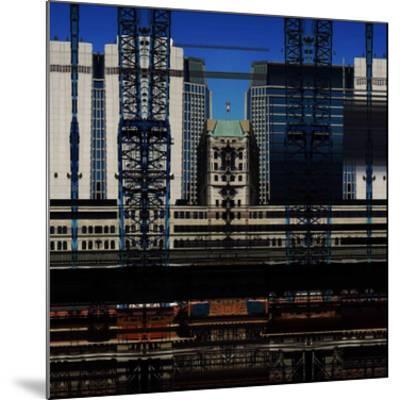 Urban Abstract 14-Jean-Fran?ois Dupuis-Mounted Art Print