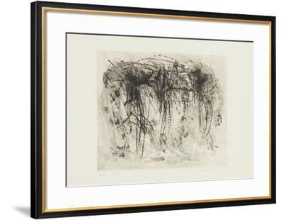 Ohne Titel 1959-Peter Br?ning-Framed Limited Edition