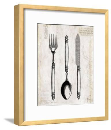 Silverware II-Sabine Berg-Framed Art Print