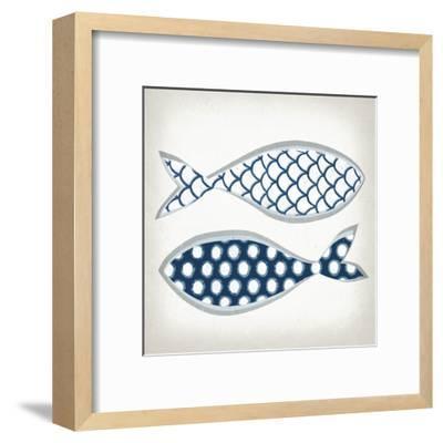 Fish Patterns II-Tandi Venter-Framed Art Print