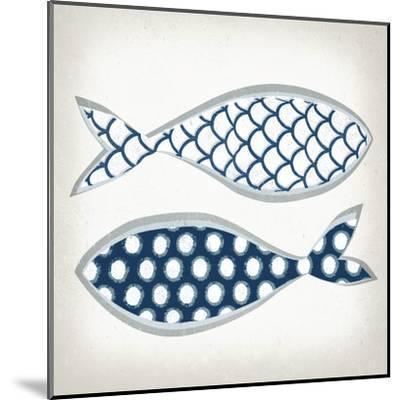 Fish Patterns II-Tandi Venter-Mounted Art Print