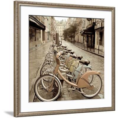 City Street Ride-Alan Blaustein-Framed Art Print