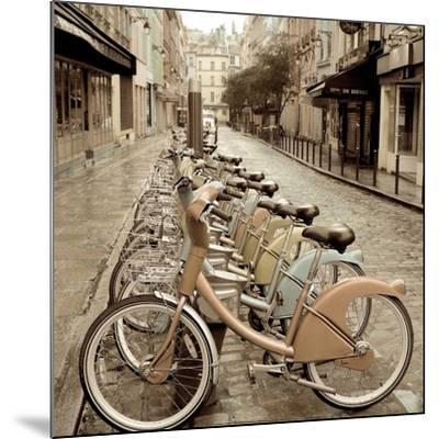 City Street Ride-Alan Blaustein-Mounted Art Print