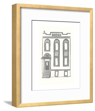 Williamsburg Building 2 (199 Maujer Street)-live from bklyn-Framed Art Print