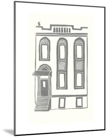 Williamsburg Building 2 (199 Maujer Street)-live from bklyn-Mounted Art Print