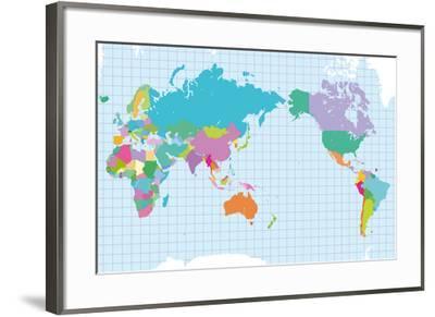 World of Colour-Max Carter-Framed Giclee Print