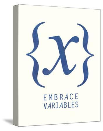 Embrace Variables-Urban Cricket-Stretched Canvas Print