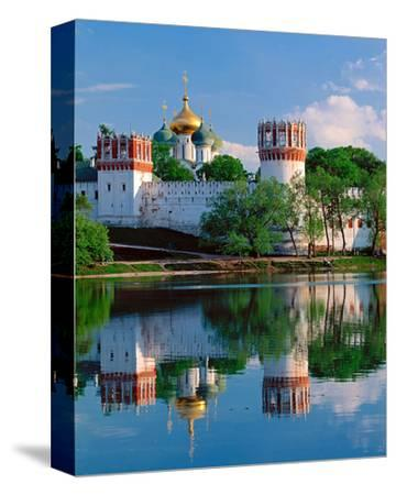 Novodevichy Convent, New Maidens' Convent, Moscow, Russia--Stretched Canvas Print