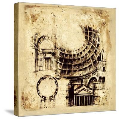 Architectorum II-Paul Panossian-Stretched Canvas Print