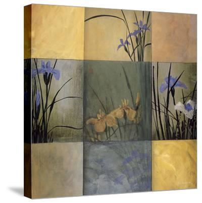 Iris Nine Patch-Don Li-Leger-Stretched Canvas Print