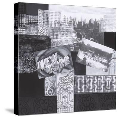 Vintage New York I-Connie Tunick-Stretched Canvas Print