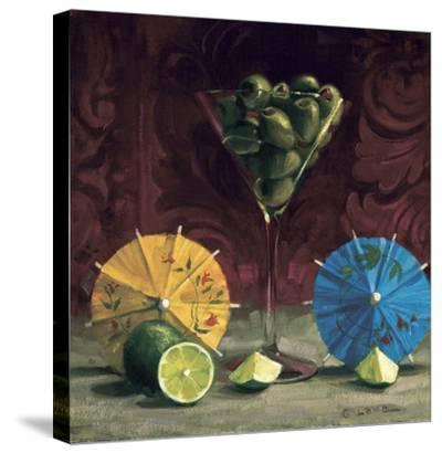 Olive Martini-Cathy Lamb-Stretched Canvas Print