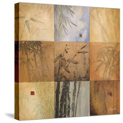 Bamboo Nine Patch-Don Li-Leger-Stretched Canvas Print