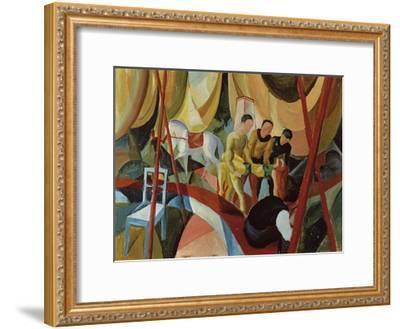 Circus 1913-Auguste Macke-Framed Giclee Print