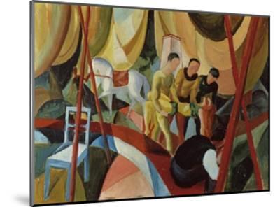 Circus 1913-Auguste Macke-Mounted Giclee Print