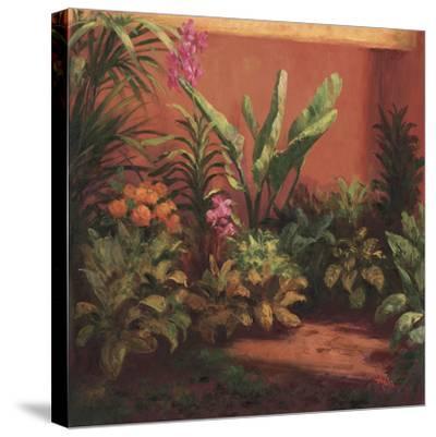 Jardin Tropical- Hali-Stretched Canvas Print