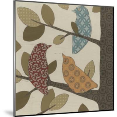 Forest Flock I-Erica J^ Vess-Mounted Art Print