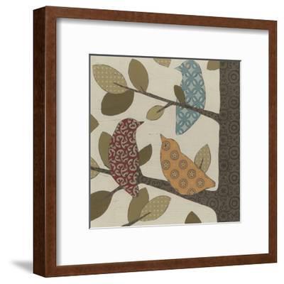 Forest Flock I-Erica J^ Vess-Framed Art Print