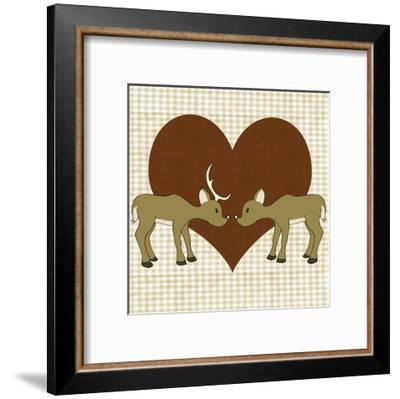 You & Me I-Pam Ilosky-Framed Art Print